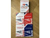 Life in the UK / United Kingdom 2017 - 4 Books British Citizenship Test Set