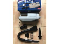 New boxed 12 volt portable vacuum cleaner