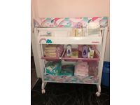 Cosatto Unicorn baby changing unit. Has been an absolute miracle! Items in picture not included.