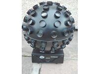 Adj Starburst mirror ball effect DMX good condition. I have 3 for sale.