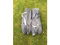 Folding camping chairs (2)