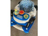 Racing Car baby walker / rocker