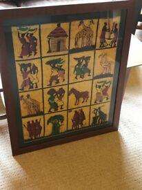 East African Framed Picture