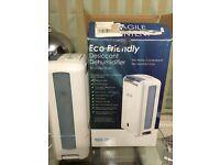 Eco Air DD122FW Desiccant Dehumidifier With Ioniser