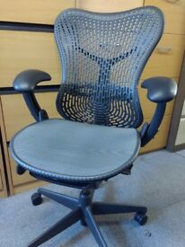Herman Miller Mirra Chair In Two Tone Grey - Used - Price Includes VAT