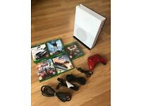 Xbox one S console 500Gb with remote and 5 games