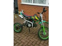 Stomp Racing 125cc Pitbike