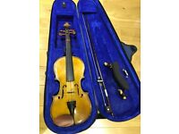 Stentor 1/2 size student violin in excellent condition