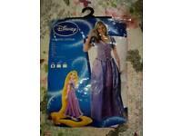 Fancy dress outfit rapunzel