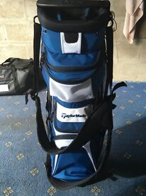 Taylormade Supreme Hybrid Carry Bag Blue/Black