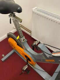 Keiser millenium rear drive orange/grey indoor cycle