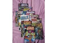 Old Comic Magazines