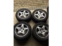 4 wheels for Honda Civic EP2 1.6 (including rims)