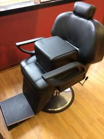 Barber chairs x2 and booster cushion
