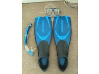 CRESSI SNORKELING ACTIVITIS SET, VERY GOOD CONDITION