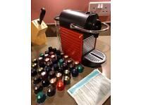 Krups Pixie Nespresso Coffee Machine