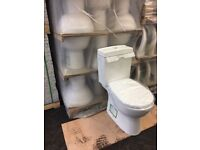Toilet (Geberit cistern) and basin set £78. Brand new set in original boxes