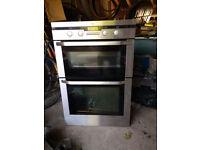 AEG Double oven, built in.