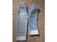 Size 8 , 3/4 jeans
