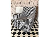 Chequered Armchair