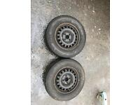 Vauxhall Corsa rim and tyres x2