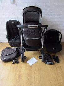 Silver cross wayfarer pram and ISOFIX