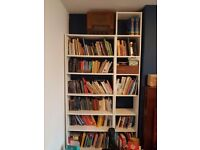 White billy bookcase x3 free to collect