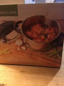 Lakeland 3.0l stainless steel pressure cooker