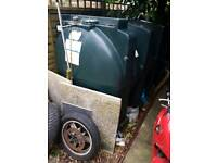Central heating oil tank