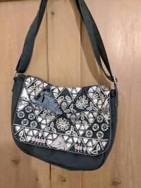 TU sequin shoulder bag