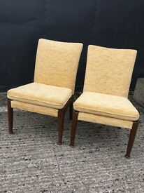 2 small Parker knoll chairs