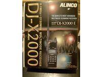 Allinco DJ-X2000 ~~MULTIMODE SCANNING RECEIVER AM/CW/USB/LSB