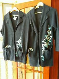 Two Matching Cardigans 18/20
