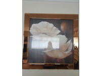 Lovely Glass framed picture and Canvas picture
