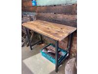 Work bench garden table