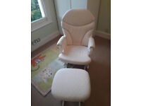 Dutailier Nursing Chair with Footstool