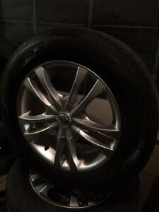 215 60R 16 COOPER C53 TOURING ON OEM RIMS UNIVERSAL BOLT PATTERN IN EXCELLENT CONDITION
