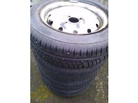 citroen berlingo wheels and tyres x4