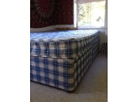 Double bed with drawers for sale