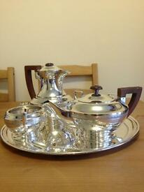 Walker and Hall Silver plated Tea Set
