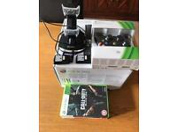 Xbox 360 250gb games and battery charger