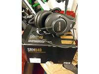 Shure SRH840 studio reference headphones