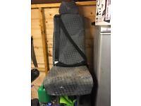 Transit single seat £15