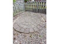 Stone circle 8ft