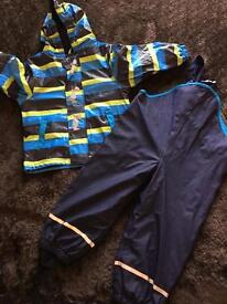 Fleece Lined waterproofs