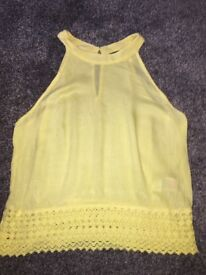 Yellow summer top