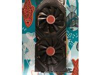 XFX - AMD Radeon RX 580 8GB Black Edition GDDR5 Graphics Card