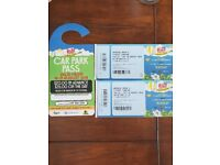 2x Weekend Rize Festival tickets (V Fest replacement) with car parking