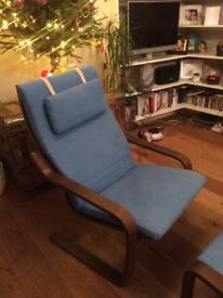 Chair and matching stool