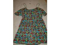 Two size 10 playsuits
